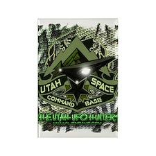 USCB Green Reptile Camo Rectangle Magnet