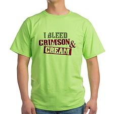 Bleed Crimson Cream T-Shirt