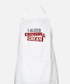 Bleed Crimson Cream BBQ Apron