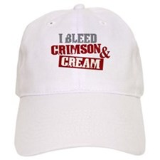 Bleed Crimson Cream Baseball Cap