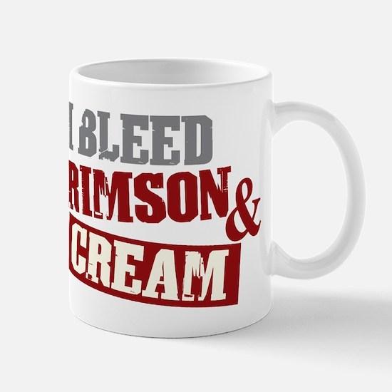 Bleed Crimson Cream Mug