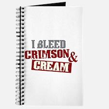 Bleed Crimson Cream Journal