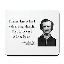Edgar Allan Poe 13 Mousepad