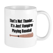 Vampire Baseball Mug