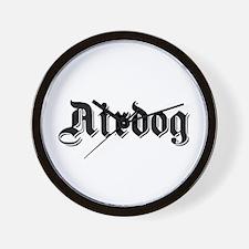 Airdog Wall Clock