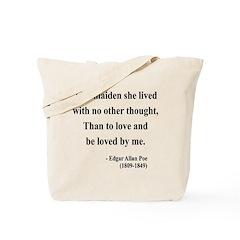 Edgar Allan Poe 13 Tote Bag