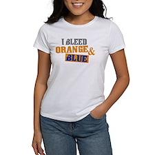 Bleed Orange Blue Tee