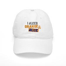 Bleed Orange Blue Baseball Baseball Cap