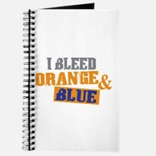 Bleed Orange Blue Journal