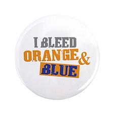 """Bleed Orange Blue 3.5"""" Button"""