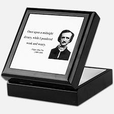 Edgar Allan Poe 14 Keepsake Box