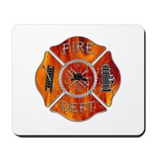Fire Department Mousepad