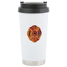 Fire Dept Travel Coffee Mug