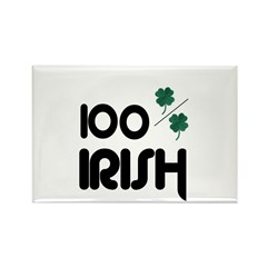 100 % IRISH Rectangle Magnet