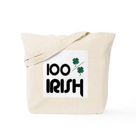 100 % IRISH Tote Bag