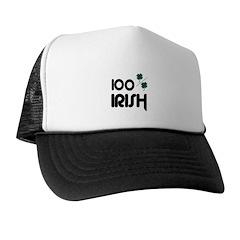 100 % IRISH Trucker Hat
