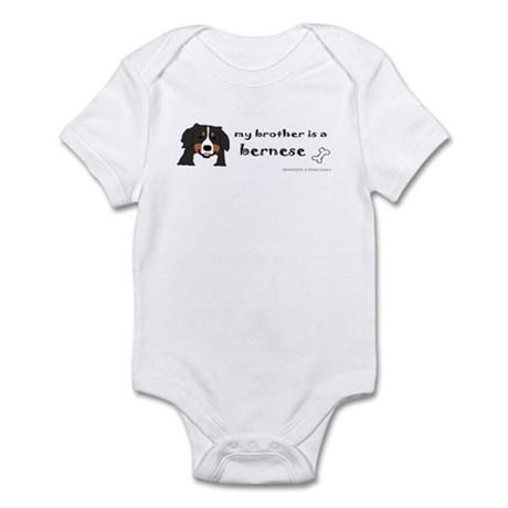 bernese mountain dog gifts Infant Bodysuit