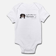 bernese mountain dog gifts Infant Bodysuit