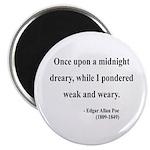 Edgar Allan Poe 14 Magnet