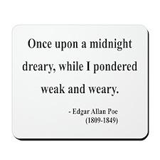 Edgar Allan Poe 14 Mousepad
