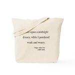 Edgar Allan Poe 14 Tote Bag