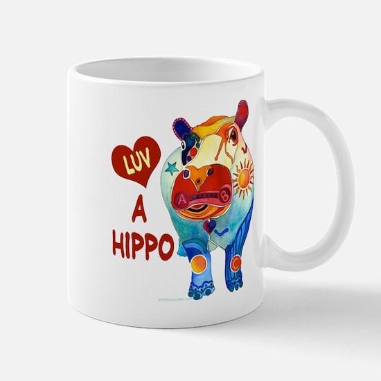 Love A Hippo Mug
