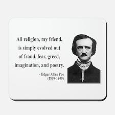 Edgar Allan Poe 15 Mousepad