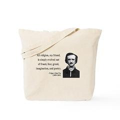 Edgar Allan Poe 15 Tote Bag