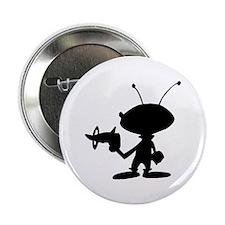 "Alien Ray Gun 2.25"" Button"