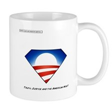 Cute Obama superhero Mug