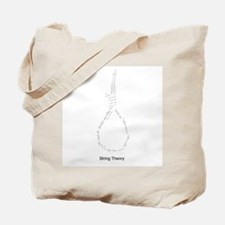 String Theory Equations Tote Bag
