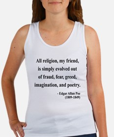 Edgar Allan Poe 15 Women's Tank Top