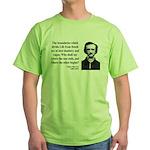 Edgar Allan Poe 16 Green T-Shirt