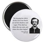 Edgar Allan Poe 16 Magnet