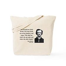 Edgar Allan Poe 16 Tote Bag