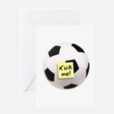 Kick me! - Greeting Card