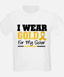 I Wear Gold Sister T-Shirt
