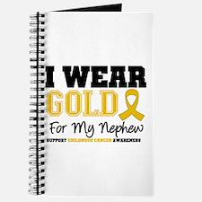 I Wear Gold Nephew Journal