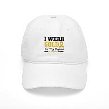 I Wear Gold Nephew Baseball Cap