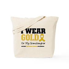 IWearGold Granddaughter Tote Bag