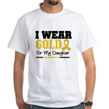 I Wear Gold Daughter Shirt