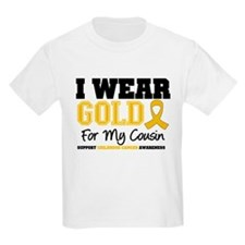 I Wear Gold Cousin T-Shirt