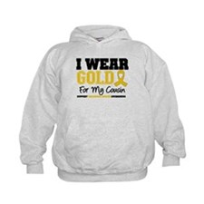 I Wear Gold Cousin Hoodie