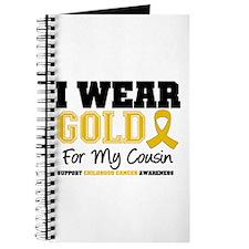 I Wear Gold Cousin Journal