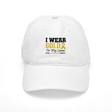 I Wear Gold Cousin Baseball Cap