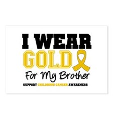 IWearGold Brother Postcards (Package of 8)