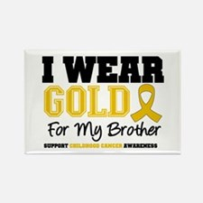 IWearGold Brother Rectangle Magnet