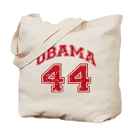 Obama 44 Jersey Style Tote Bag