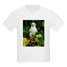 Galapagos Islands Red Footed  Kids T-Shirt