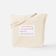 SHE SINGS TO ME (501) Tote Bag